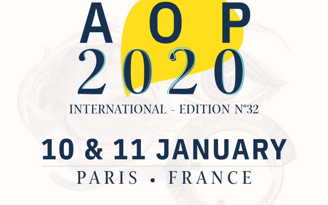 32e édition des AOP